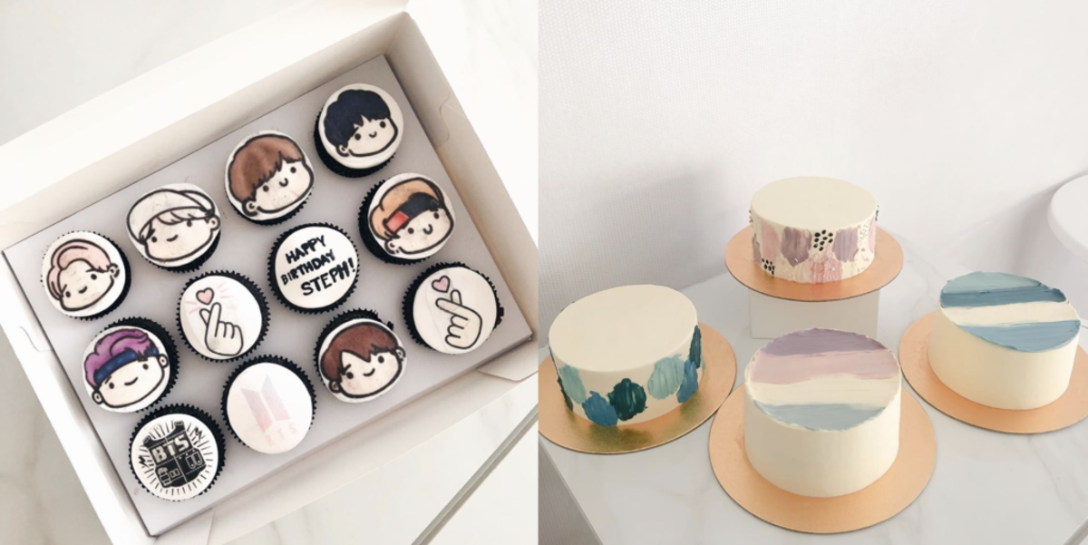 The different options  available for those interested in ordering cakes